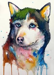 Middle School Husky Art Project