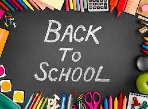 Back to School Information 2020-2021