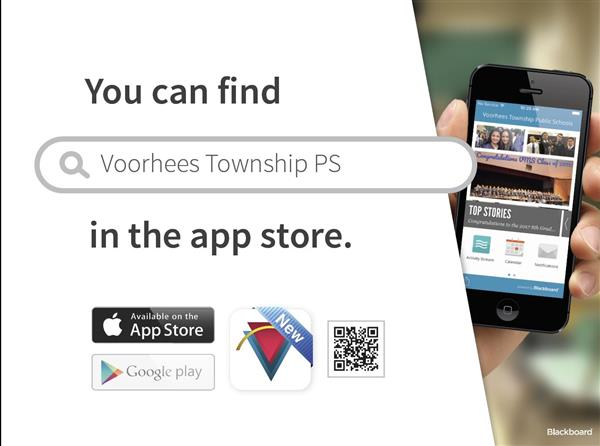 We have an App - Find Voorhees Township PS in the app store!
