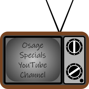 Osage Specials YouTube Channel